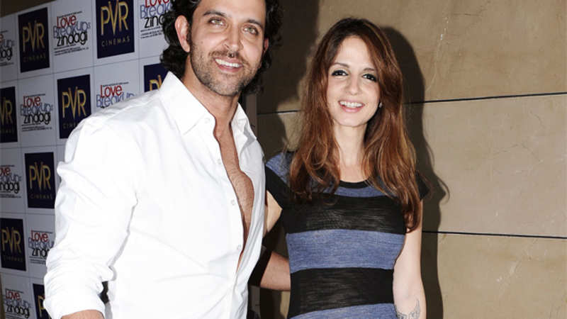 It's official! Hrithik Roshan and Sussanne Khan are divorced