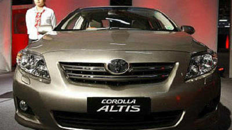 Toyota to recall Corolla made in January-June 2003 in India