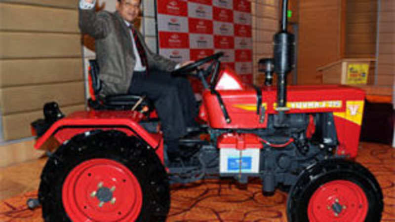 Mahindra rolls out nation's smallest & cheapest tractor