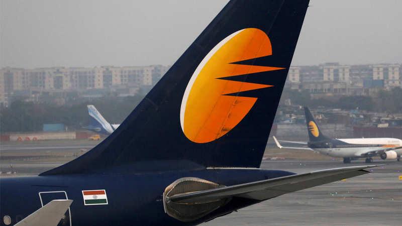 Jet shares plunge 32% after suspending all flights