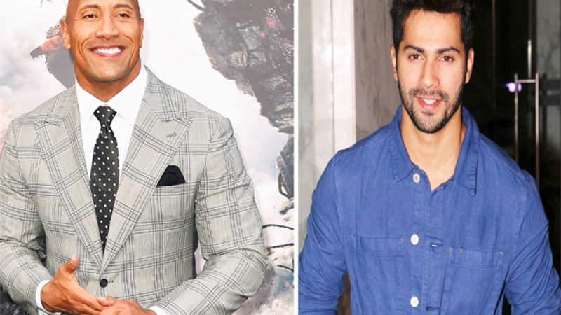 Varun Dhawan heaps praise on Dwayne Johnson's 'San Andreas