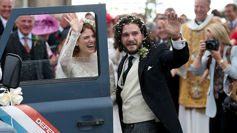 Kit Harington Wedding.Inside Game Of Thrones Stars Kit Harington Rose Leslie S Gorgeous
