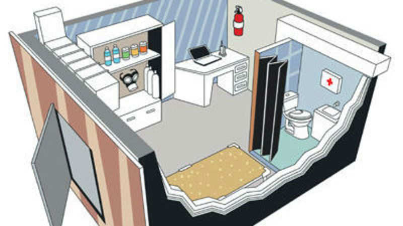 Miraculous The Anatomy Of A Safe Room Inside Your Home The Economic Download Free Architecture Designs Rallybritishbridgeorg