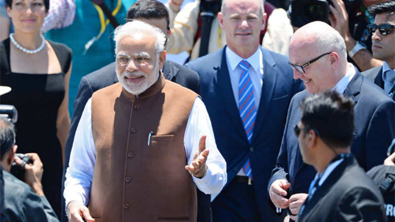 PM Narendra Modi and Tony Abbott to pose with World Cup