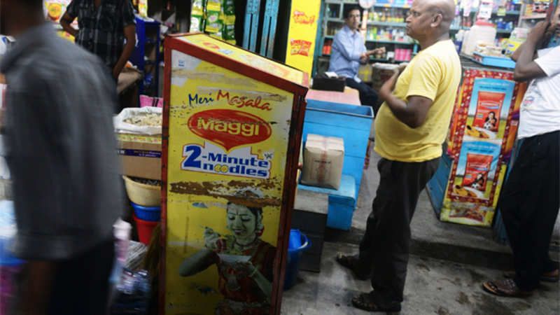 Nestle replaces Maggi ads with Nescafe and KitKat commercials, to