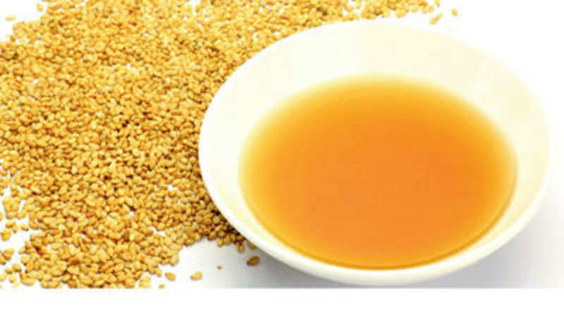 Why sesame is standard oil for cooking and eating? - The