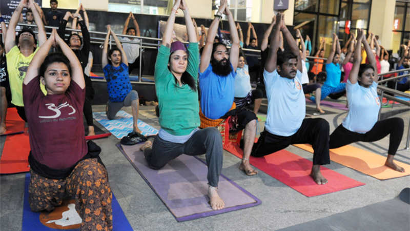 Reciting mantras during Yoga un-Islamic: Darul Uloom - The
