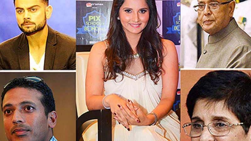 Celebs praise Sania Mirza on Twitter - The Economic Times