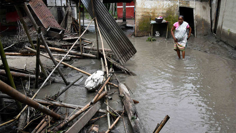 7 killed in Assam floods, north India receives light to