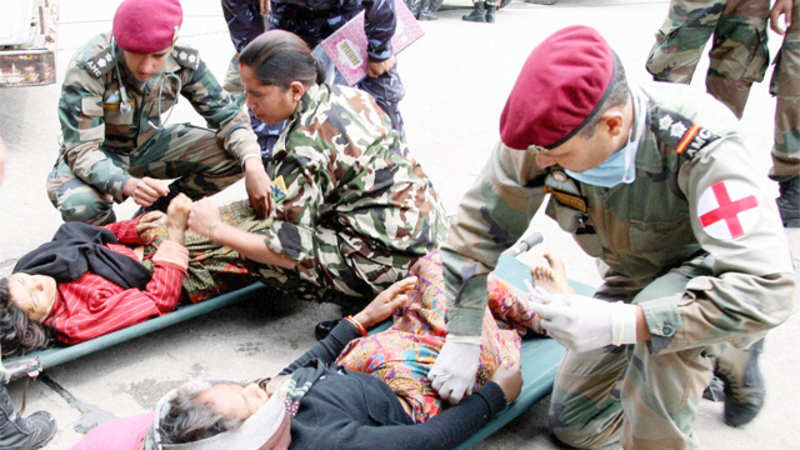 India assures quake-hit Nepal of all possible assistance