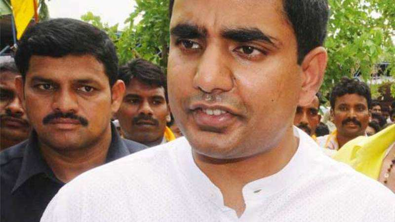 N Chandrababu's son Nara Lokesh likely to contest MLC election - The