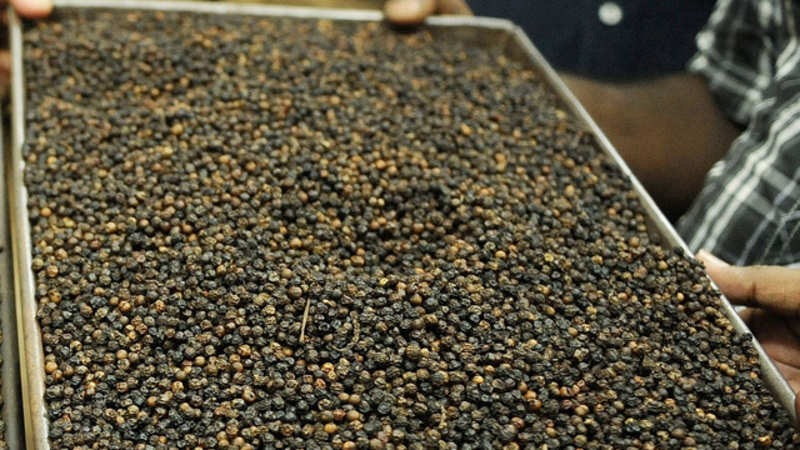 Supply crunch, rising prices make Indian black pepper