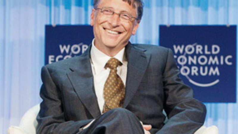 World Economic Forum: World Economic Forum Davos 2012: Bill