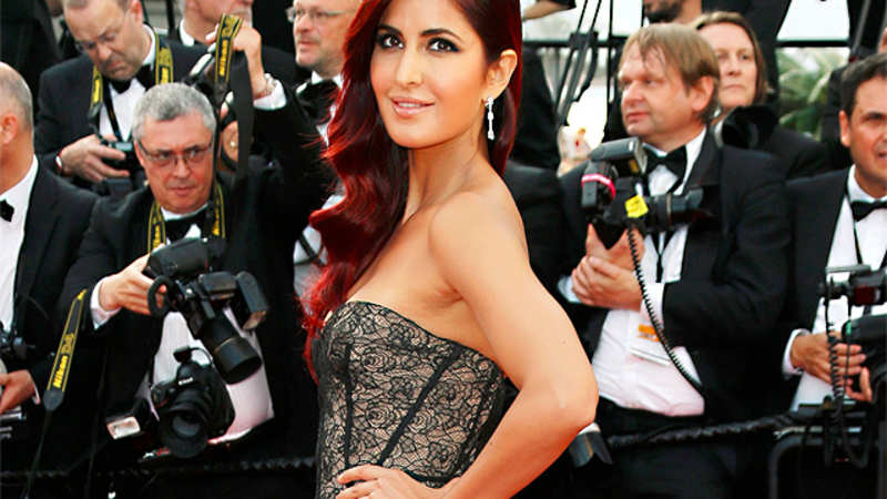 f7f7eea56d Katrina Kaif makes stunning red carpet debut at Cannes 2015 - The ...