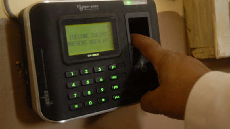 Biometric attendance system to be mandatory by March 31 in Jammu and