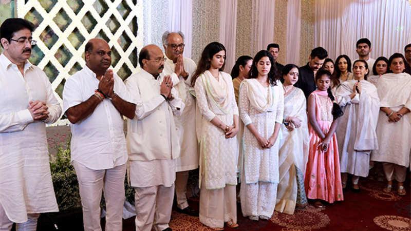 At Sridevi's prayer meet in Chennai, southern stars Sivakumar