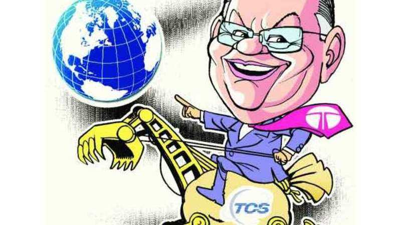TCS hands out 8% average salary hike