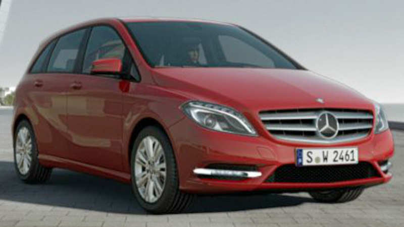 Mercedes Benz Mercedes Benz To Launch B Class With Sub Rs 25 Lakh