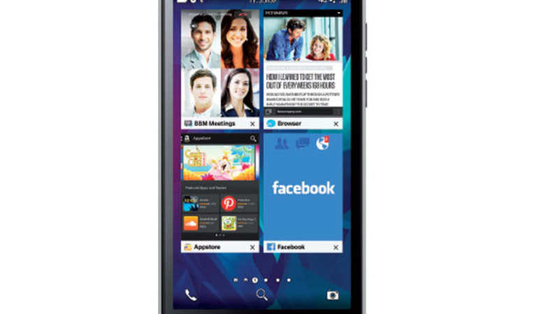 BlackBerry Leap Review: Adequate performance but not what