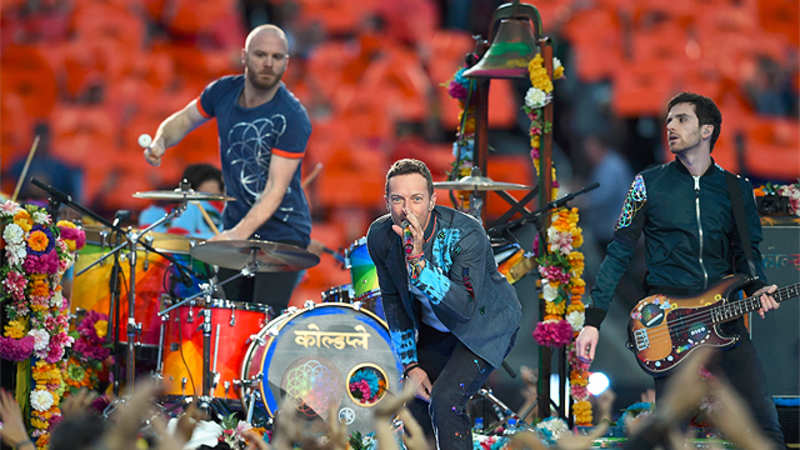 At Super Bowl, Coldplay shows some Hindi love! - The Economic Times