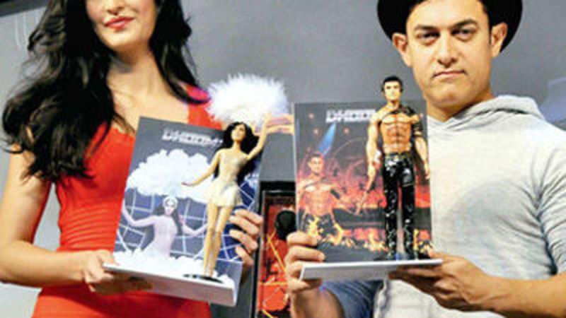 Dhoom 3: Katrina dolls and Aamir Khan bikes herald Bollywood's steps