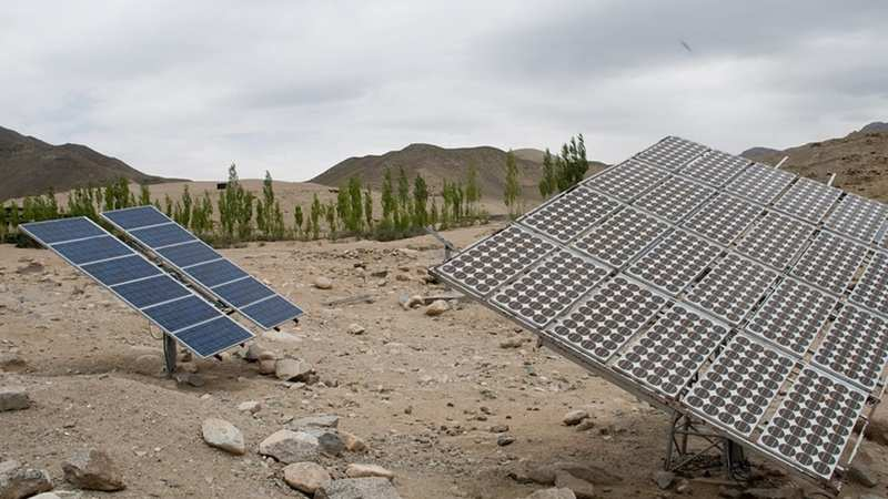 Residential solar power plant cost in india