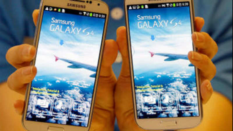 Samsung galaxy s4: Samsung Galaxy S4 launched at Rs 41,500