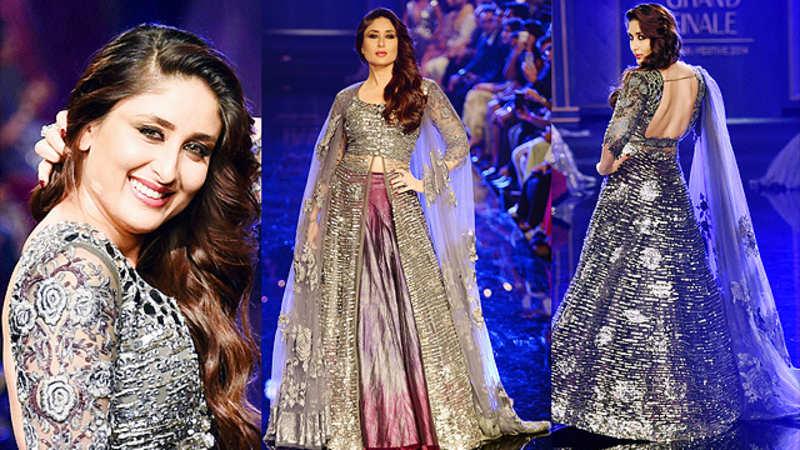 Shades of grey at LIFW: Kareena dazzles finale in Manish