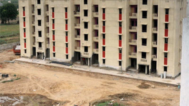 DDA to hand over flats from January 1 - The Economic Times