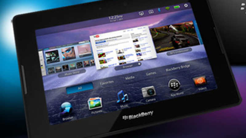Tablet war hots up, Blackberry to launch Playbook this month