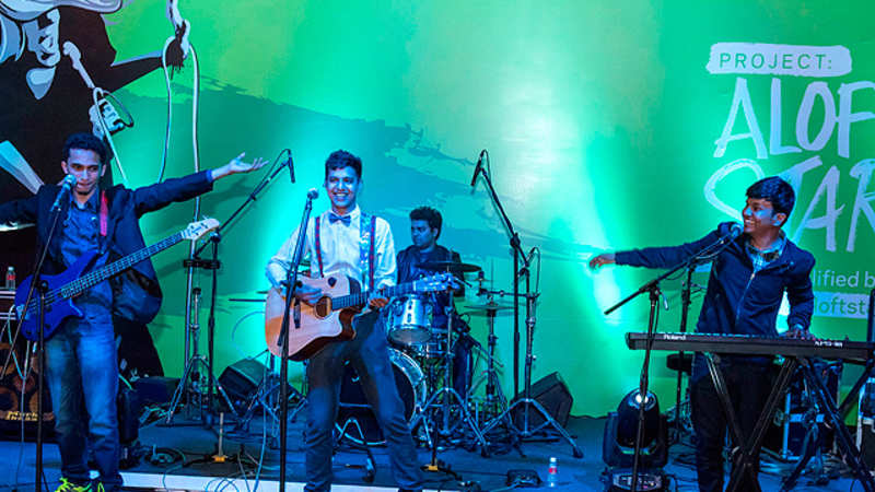 MTV: Pune-based band After Acoustics wins the 'Project Aloft Star