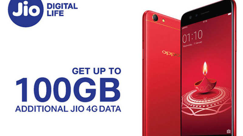 Jio Oppo Offer: Reliance Jio-Oppo 100GB data offer: All you