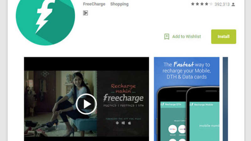 FreeCharge revamps app for Windows store - The Economic Times