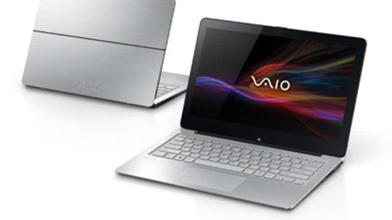 Sony launches laptop cum tablet 'Vaio Flip' series