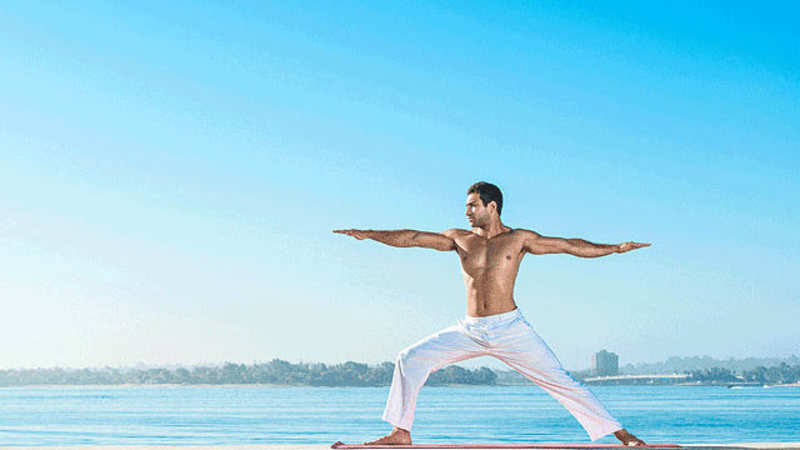yoga poses: Cancer care: Five yoga practices to build
