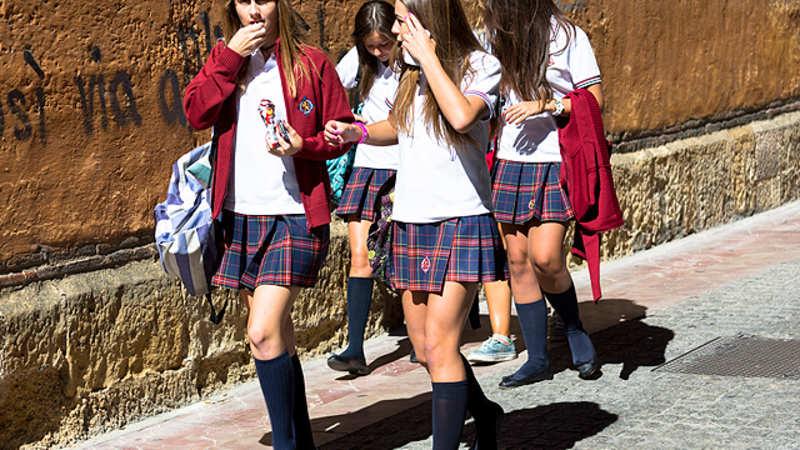 Knee socks schoolgirls vids watch the hottest knee