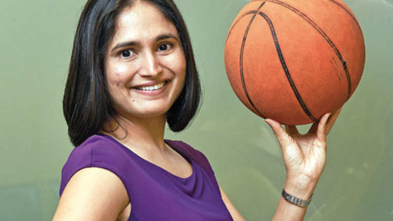 Basketball taught Morgan Stanley's Ami Momaya how to get the right