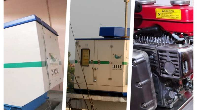 Generator prices in India and their areas of application