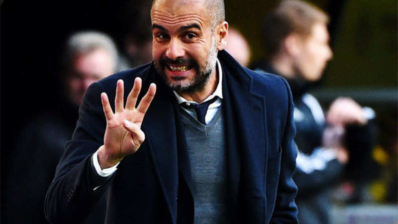 Bayern Munich coach Pep Guardiola completes 50 victories as coach