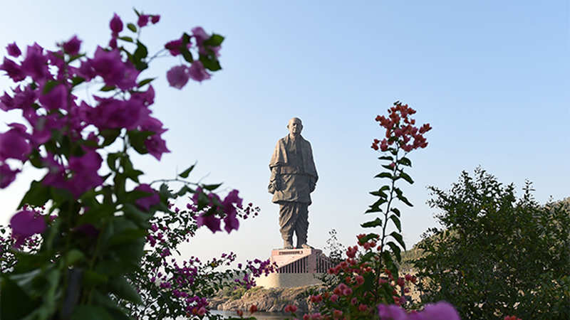 Over 1 28 lakh tourists visit Statue of Unity in 11 days