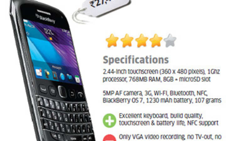 ET Review: BlackBerry Bold 9790 - The Economic Times