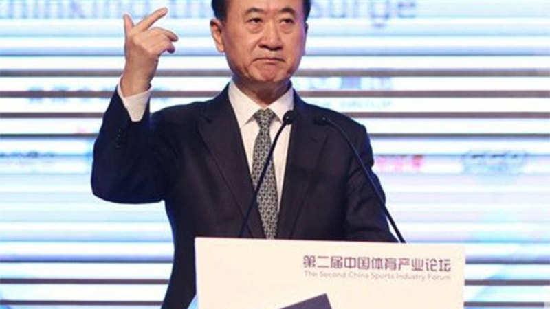Billionaire Wang Jianlin signals son won't helm $91 7