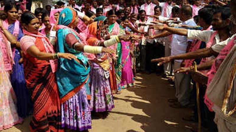 Telangana polls: Leaders throng Kawal Tiger Reserve to woo tribal