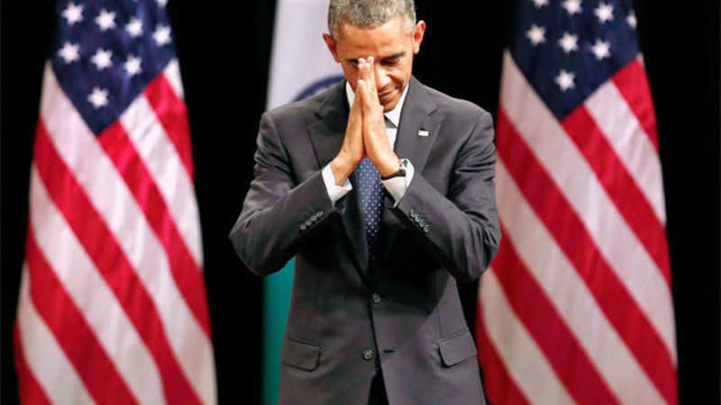 US President Barack Obama quotes SRK's 'senorita' dialogue