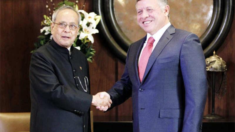 Pranab Mukherjee inaugurates Jordan's sulphuric acid plant with