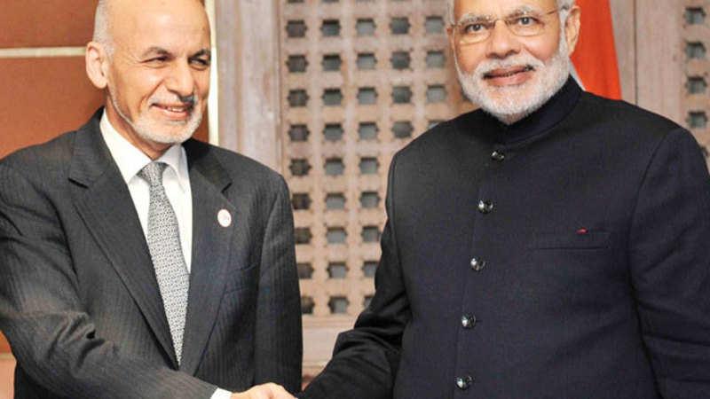 PM Narendra Modi meets Afghanistan President Ghani