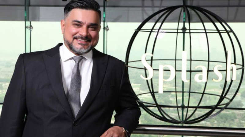 Splash CEO Raza Beig struck his first business deal at the