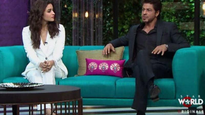 Koffee with Karan 5 Episode 1: Shah Rukh Khan & Alia