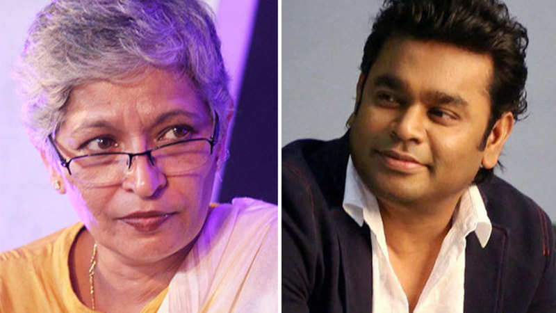 AR Rahman slams journalist Gauri Lankesh's murder - The