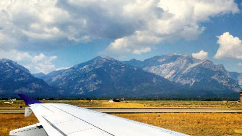 Jackson Hole Airport >> From Harrison Ford To Brokeback Mountain Jackson Hole Airport Has
